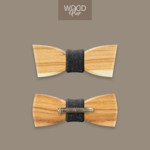 Holzfliege KIDy mit Stecknadel